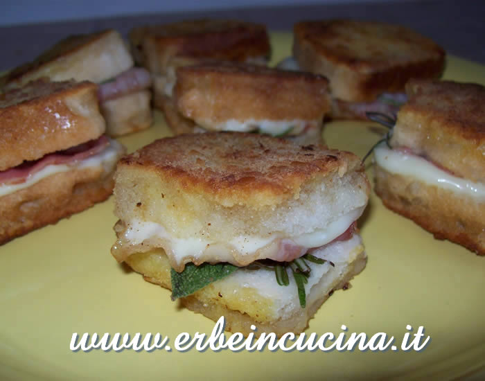 Bacon in carrozza