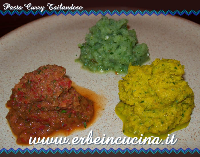 Pasta curry tailandese