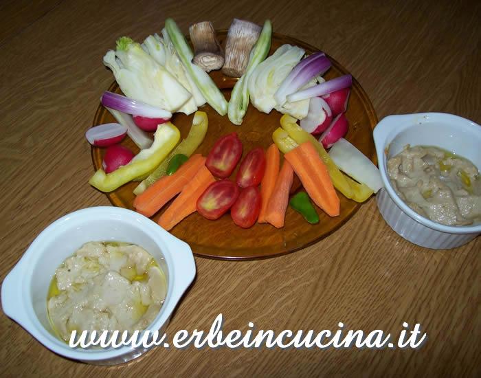 Erbe in cucina - Ricetta: Bagna cauda piemontese