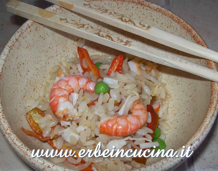 Stir-fried Rice with Shrimps and Shishito