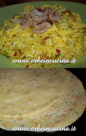 Yellow Biryani with Coriander