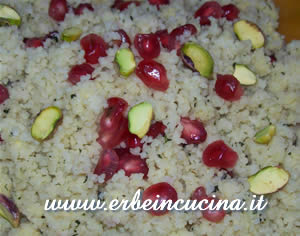 Couscous Salad with Pomegranate and Pistachio