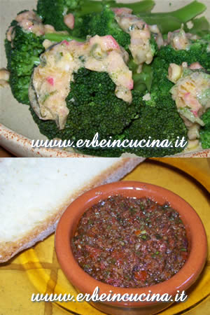 Broccoli Salad and Tapenade