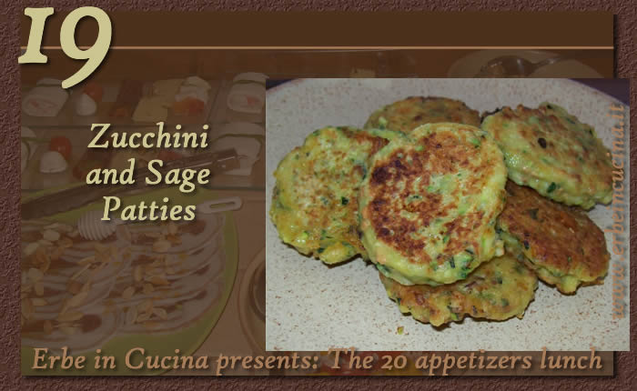 Zucchini and Sage Patties