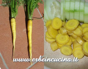 Yellow carrots