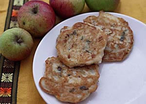 Apple and Sage Fritters