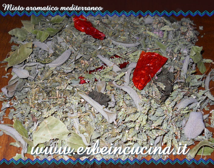 Misto aromatico mediterraneo