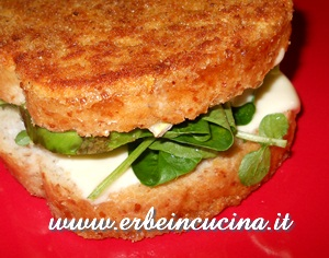 Avocado e crescione in carrozza