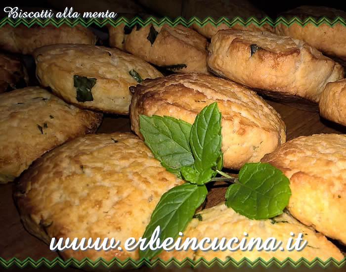 Favorito Erbe in cucina - Ricetta: Biscotti alla menta QV85