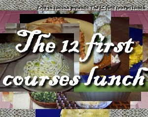 The 12 first courses lunch